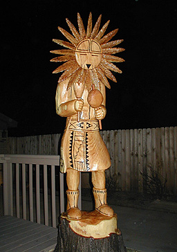 [Kachina Sun God]